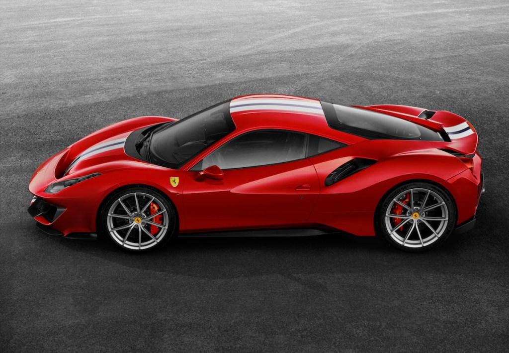 ferrari 488 gtb pista v8 engine turbo biturbo sports cars models new 2019 limited