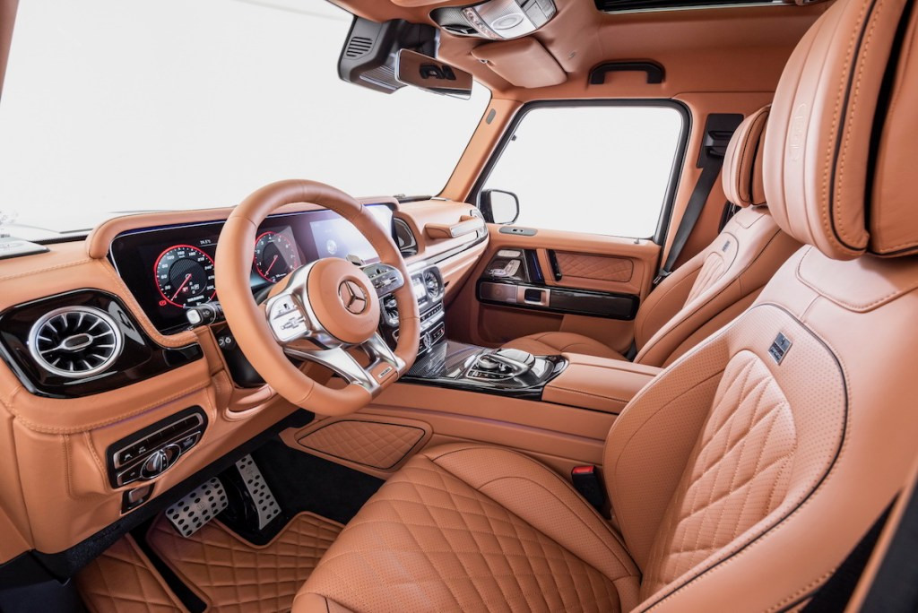 brabus 800 widestar suv offroad offroader cars models limited special editions mercedes-benz mercedes-amg cockpit