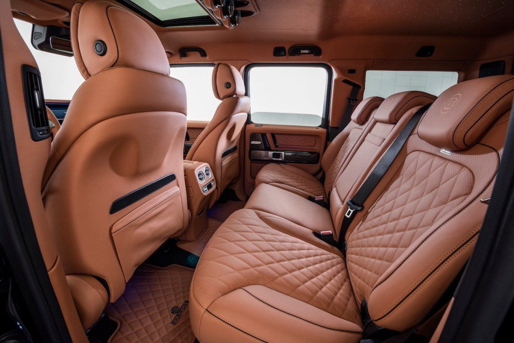 brabus 800 widestar suv offroad offroader cars models limited special editions mercedes-benz mercedes-amg interior