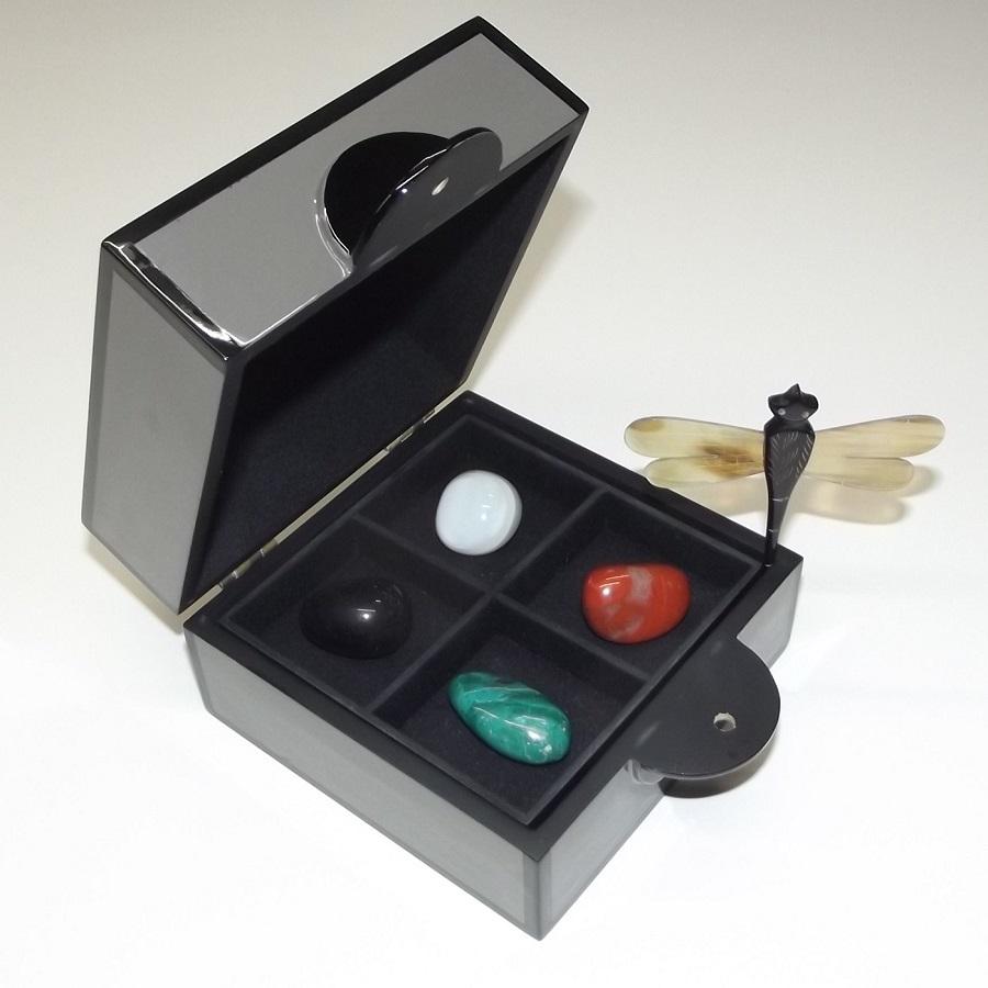 kristalle edelsteine schatulle geschenkbox herbst