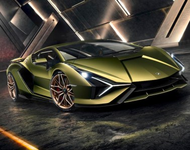 lamborghini sian limited edition unique sports car new v12 hybrid motor show iaa frankfurt 2019