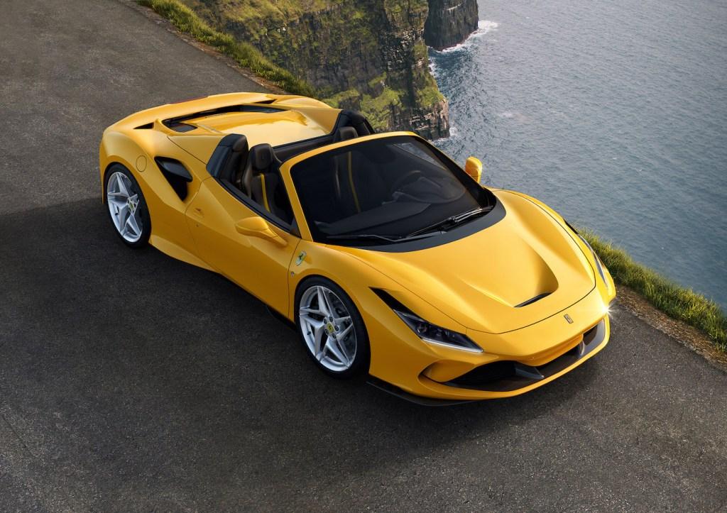 ferrari f8 spider tributo convertible sports car new model models 2019