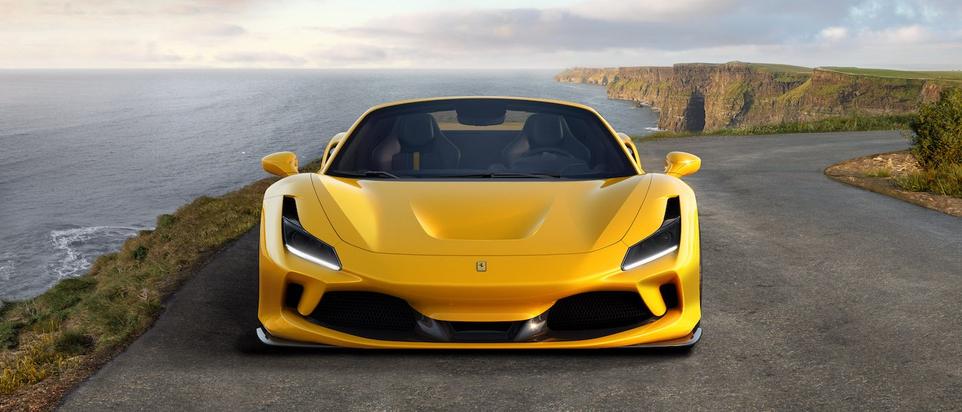 ferrari f8 spider tributo convertible sports car new model models 2019 open-top