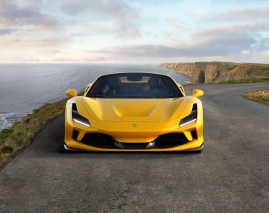 ferrari f8 spider tributo convertible sports car new model models 2019 open-top