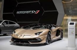 lamborghini-aventador-svj-roadster lamborghini aventador svj roadster autosalon genf 2019 automobilsalon frontansicht