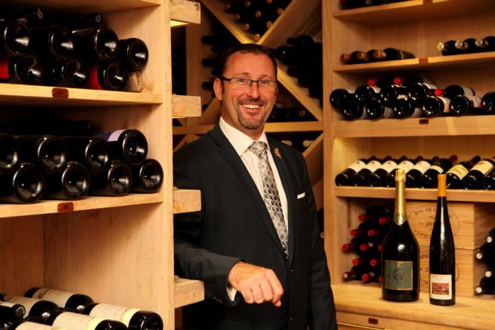 Wein Sommelier Constance Weinkeller Chef