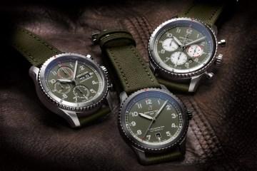 breitling aviator chronographen herrenuhren luxusuhren schweiz hersteller fliegeruhren pilotenuhren edelstahl