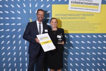 Platz 1 für das Wald & Schlosshotel Friedrichsruhe!