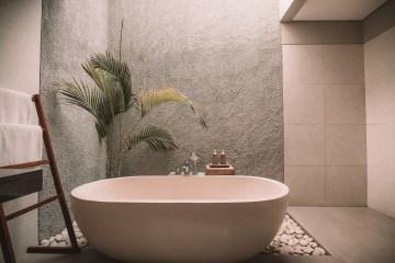 Schön zuhause bleiben So machen Sie Ihr Badezimmer zum Spa