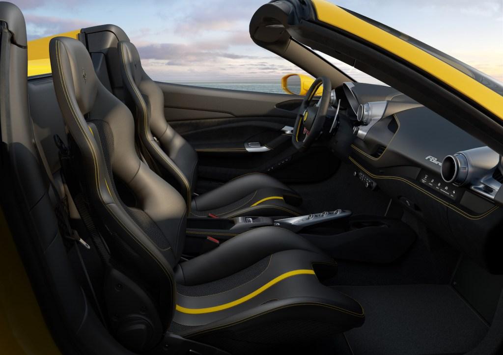 ferrari f8 spider tributo convertible sports car new model models 2019 cockpit