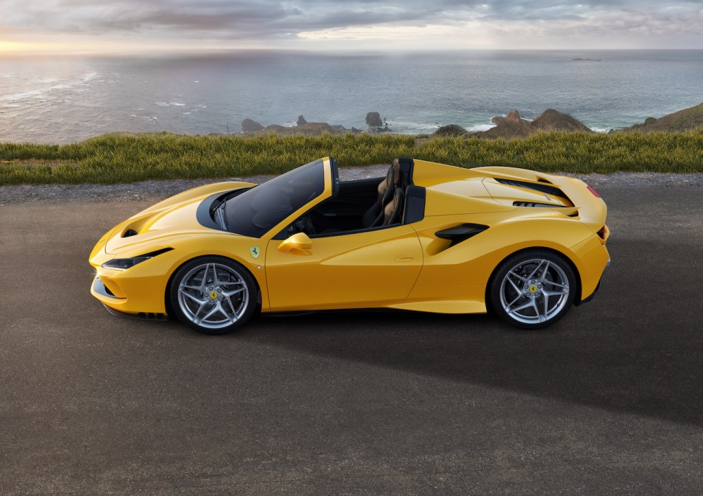 ferrari f8 spider cabriolet modelle neuheit neu v8 motor schweiz