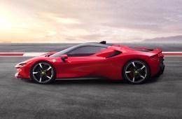 ferrari sf90 stradale hybrid v8 turbo models