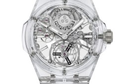 hublot big bang integral tourbillon full sapphire watches luxury swiss switzerland 2021