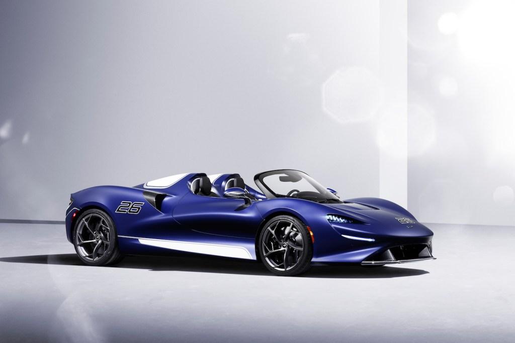 mclaren elva roadster neuheiten 2021 neue modelle schweiz deutschland sondermodelle