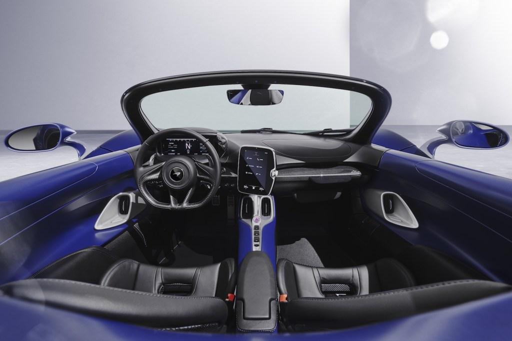 mclaren elva roadster screenless windshield limited edition 2021 models supercar