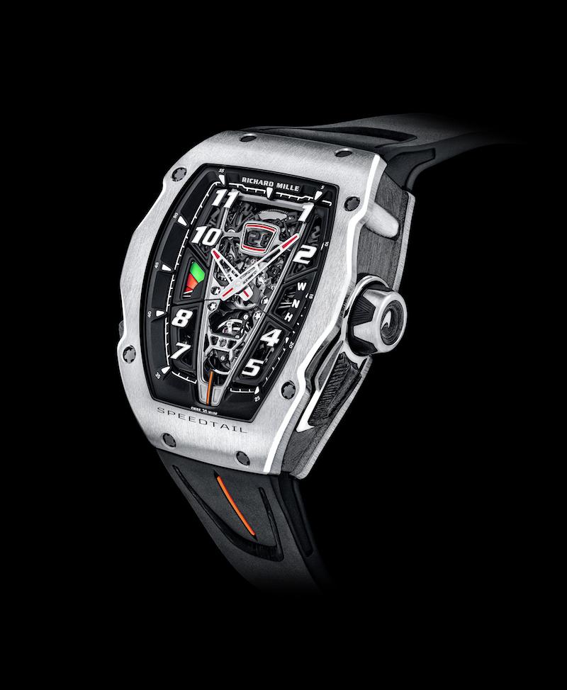 mclaren richard mille watch watches luxury timepieces platinum red gold limited