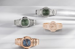 patek philippe watches luxury nautilus collection 2021 stainless steel rose gold
