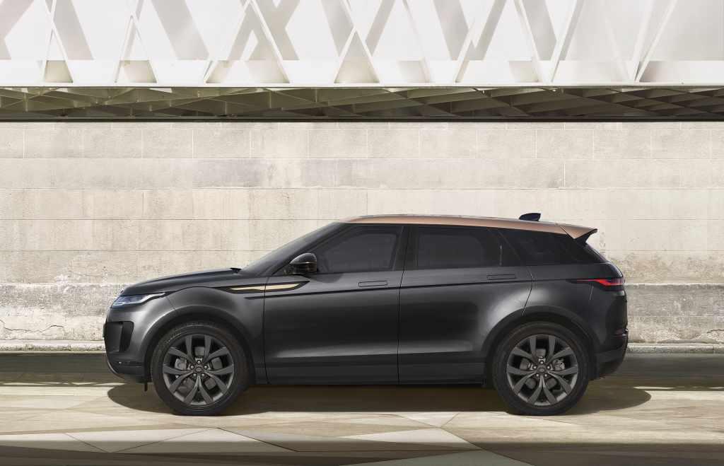 range rover evoque bronze collection sondermodelle modelle farben offroad