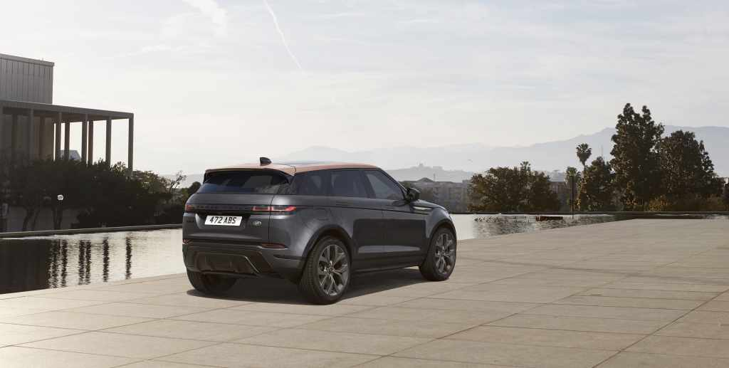 range rover evoque bronze collection special edition models new 2022