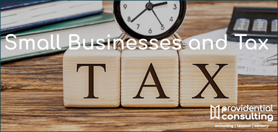 You are currently viewing Small Businesses and Tax