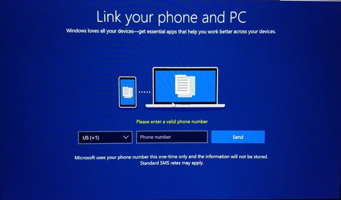 Build 17063 do Windows 10 exige número de celular do usuário para instalar