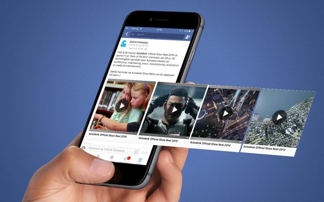 0a9aa649bdd Mais vídeos no Facebook agora terão anúncios em formato pre-roll