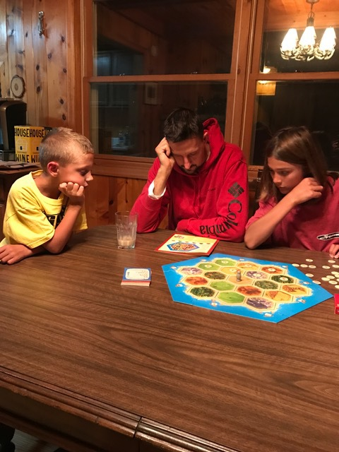 Catan, family, playing