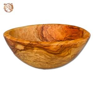Saladier bois d'olivier 28 cm