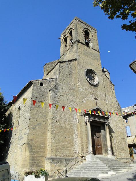Photo Eglise Du Village De Courthzon