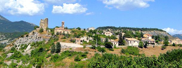 Verclause Village De La Drme Provenale