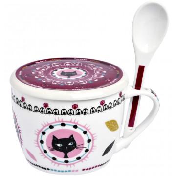 bol a soupe chat mandala foxtrot collection provence aromes tendance sud