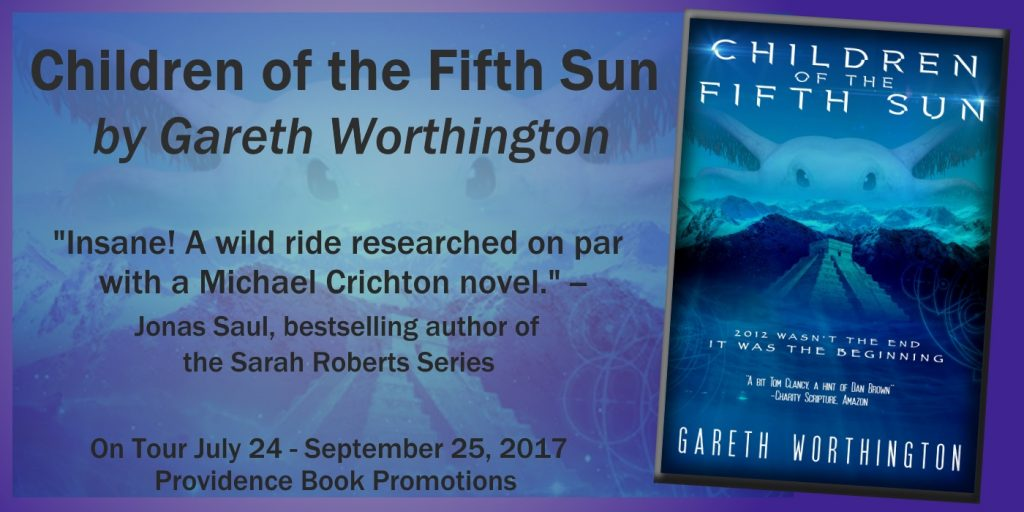 CHILDREN OF THE FIFTH SUN Tour Banner