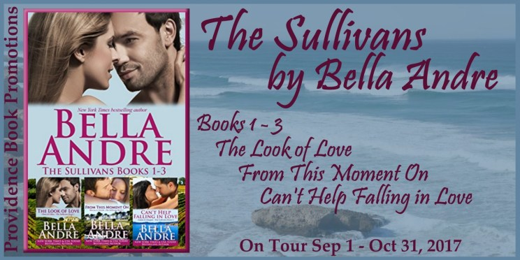 The Sullivans Boxed Set Books 1-3 by Bella Andre Tour Banner