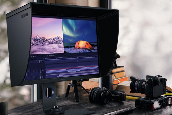 Benq Sw270c New Photographer Monitor Receives Pantone