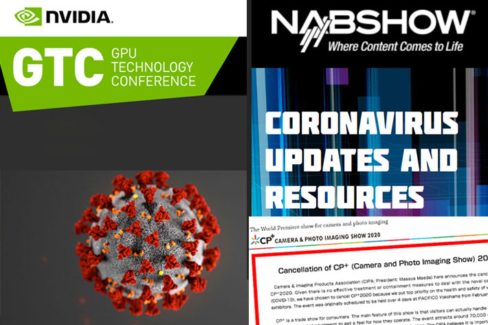 Nvidia's GTC and Facebook F8 will be online events, due to the coronavirus