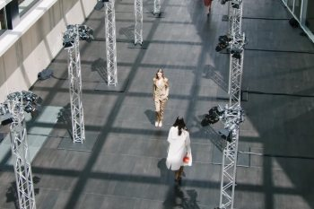 The sky is the limit: fashion shows go digital