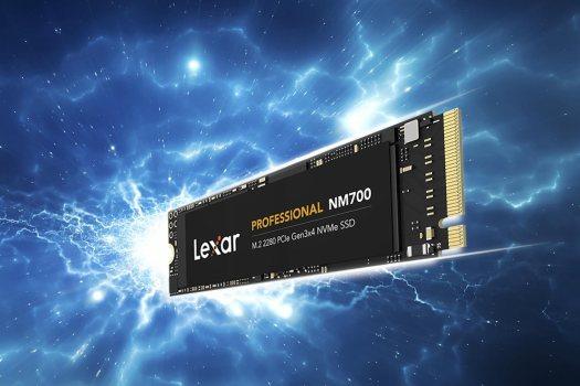 Lexar Professional NM700 M.2 2280: 6.5x faster than a SATA based SSD