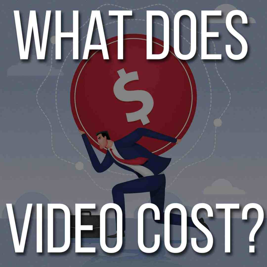 What does corporate web video cost?