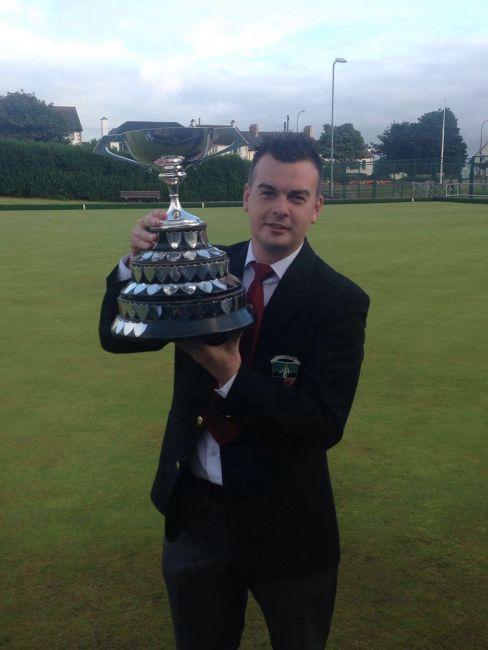 Congratulations to Barry Kane - Irish Singles Champion!!