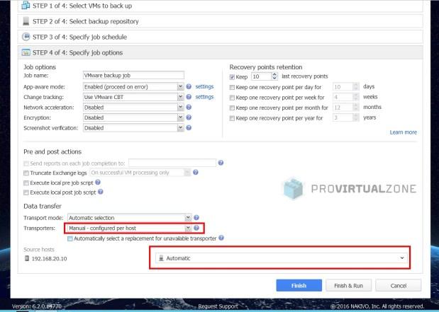 Nakivo: How to install and configure Nakivo Transporters