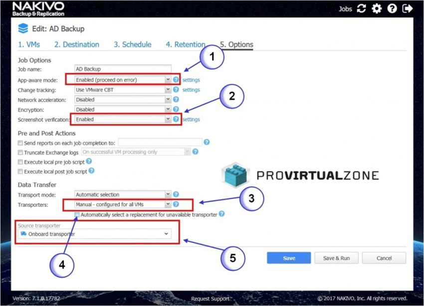 How to backup Virtual Domain Controllers > ProVirtualzone