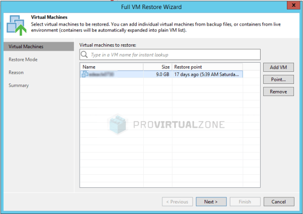 Veeam: How to fix Broken backup chain