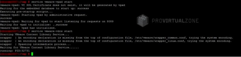 vCenter 6.0 Appliance (VCSA) fix and restore