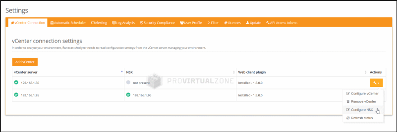 Runecast Analyzer launched v1.8 with VMware's NSX-V support