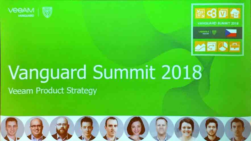 Veeam Vanguard Summit - Prague 2018 Wrap-up