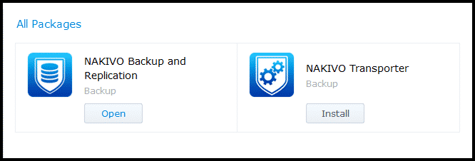 How to Install NAKIVO Backup & Replication 8 1 in a Synology