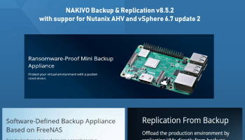 NAKIVO Backup & Replication new Features of v8 5 Beta