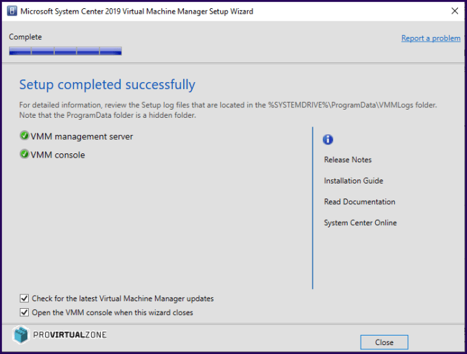 How to Install System Center 2019 in Windows Server 2019