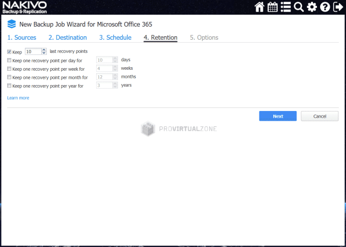 Backup & Restore Office 365 with NAKIVO