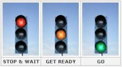 stop, wait, get ready, go, traffic signal